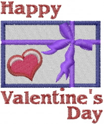 Valentines Day Gift embroidery design