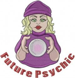 Future Psychic embroidery design