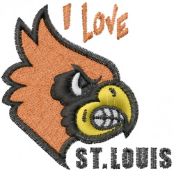 St. Louis Cardinals embroidery design