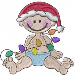 Christmas-Helper embroidery design