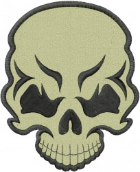 Skull Tattoo embroidery design