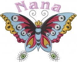 Nana embroidery design