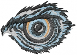 Eagles Eye embroidery design