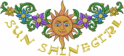 Sun Shine Girl embroidery design