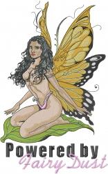 Fairy Dust embroidery design
