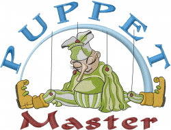Puppet Master embroidery design