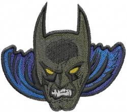 Super Menacing Hero embroidery design