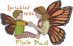 Pixie Dust embroidery design