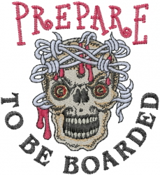 Prepare embroidery design
