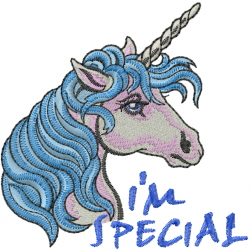 Im Special embroidery design