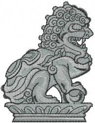 Gargoyle embroidery design
