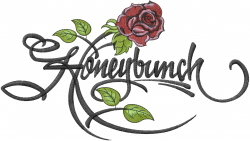 Honeybunch embroidery design