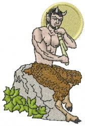 Bacchus embroidery design