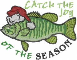 Catch The Joy embroidery design