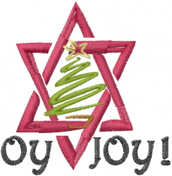 Oy Joy embroidery design
