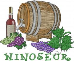 Winoseur embroidery design