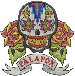 Palafox embroidery design