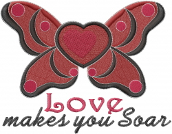 Makes You Soar embroidery design