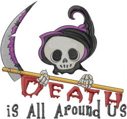All Around Us embroidery design