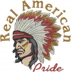 Real American Pride embroidery design