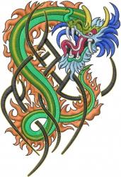 Dragon Design embroidery design