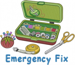 Emergency Fix embroidery design