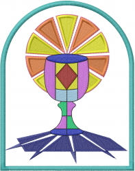 Holy Communion embroidery design