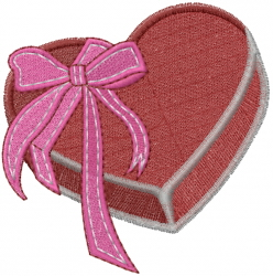 Candy Box embroidery design