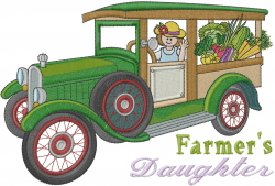 Farmers Daughter embroidery design