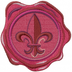Wax Seal embroidery design