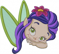 Little Fairy embroidery design
