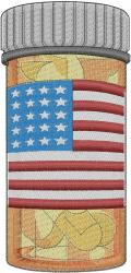 American Health Care embroidery design