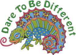Lizard Different embroidery design