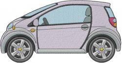 Biofuel Car embroidery design