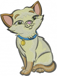 Kitty Cat embroidery design