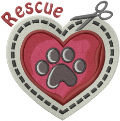 Rescue Craft embroidery design