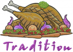 Tradition Turkey embroidery design