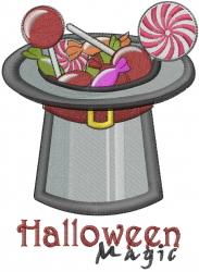 Halloween Magic embroidery design