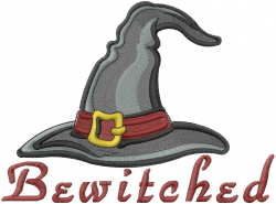 Halloween Bewitched embroidery design