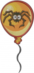 Spider Balloon embroidery design