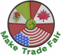 Fair Trade embroidery design