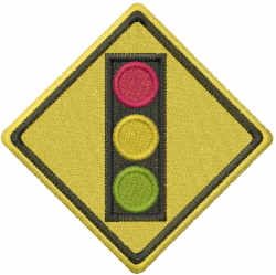 Traffic Light embroidery design