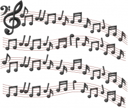 Musical Phrase embroidery design