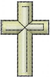 Religion Cross embroidery design