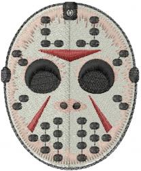 Jason Mask embroidery design