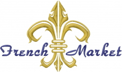French Market embroidery design