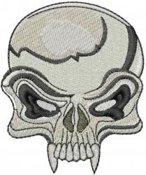 Skull Head embroidery design