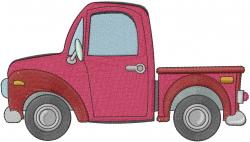 Farm Truck embroidery design