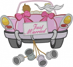 Just married embroidery designs machine embroidery Married to design