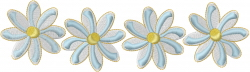 Daisy Border embroidery design